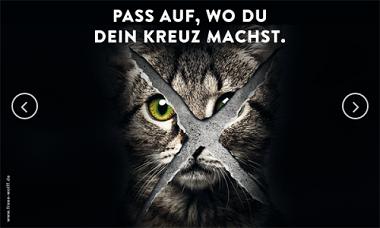 Tierschutz Bundestagswahl
